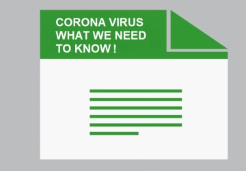 CORONA VIRUS WHAT WE NEED TO KNOW